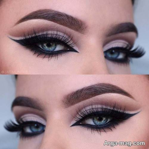 مدل آرایش چشم با متدهای جدید