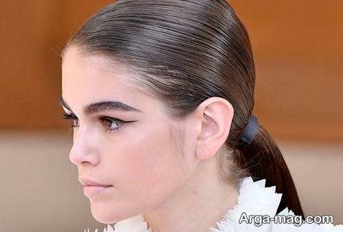 ابروی دخترانه پهن و زیبا