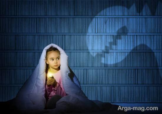 نشانه های ترس در خواب