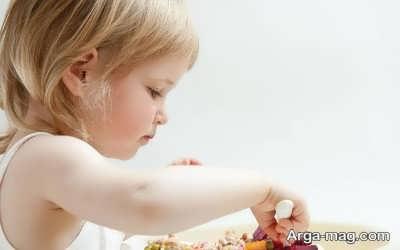 روش های تغذیه ای برای کودک سیزده ماهه