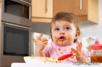 تغذیه و غذای بچه سیزده ماهه