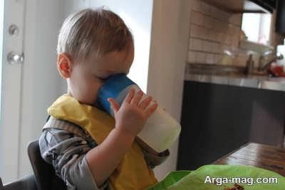 روش تغذیه کودک سیزده ماهه
