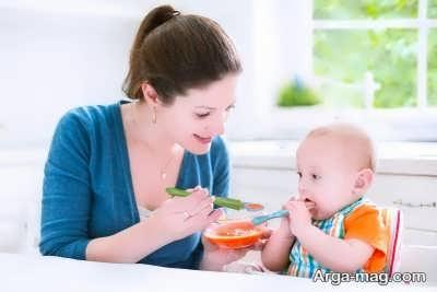 روش تغذیه بچه سیزده ماهه