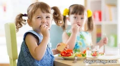 آشنایی با تغذیه کودک سه ساله
