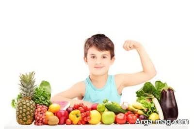 چگونگی مصرف سبزیجات و میوه ها برای کودک