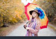 گالری ژست عکس با چتر
