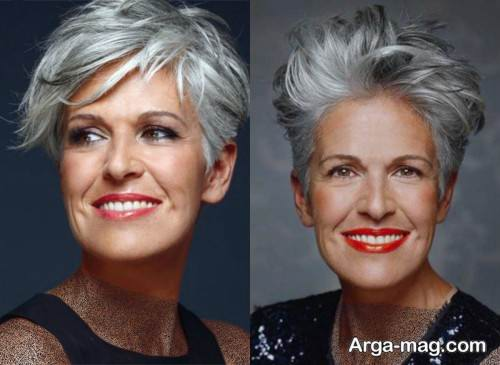 رنگ موی روشن زنانه