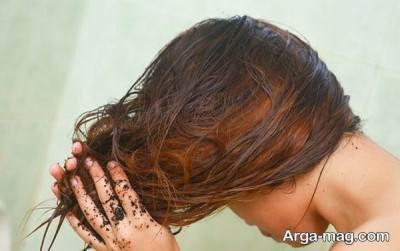 نحوه استفاده از ماسک حنا برای مو
