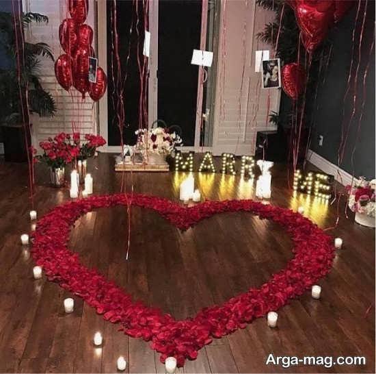 تزیین رمانتیک منزل با شمع