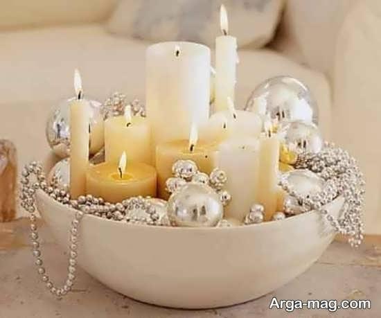 تزیینات خانه با شمع