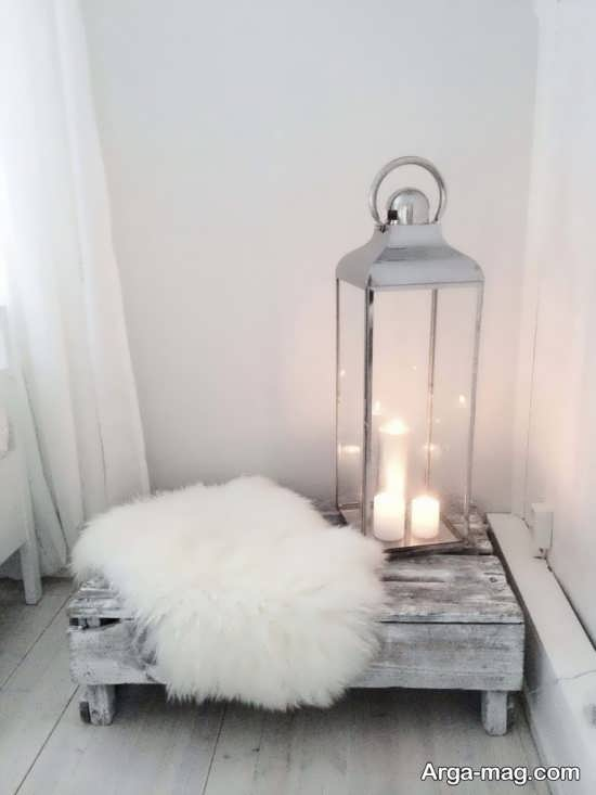 تزئینات منزل با شمع آرایی زیبا