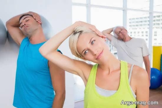 درمان آرتروز گردن با ورزش منظم