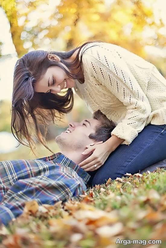 ژست زیبای عکس عاشقانه