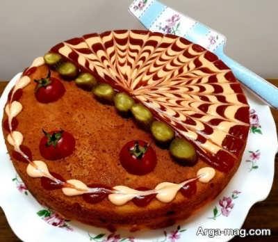 روش ساخت کیک گوشت در منزل
