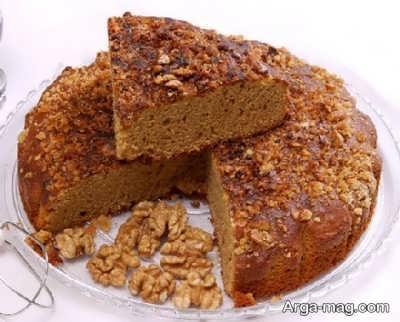 طرز تهیه کیک با شیره انگور با طعم عالی