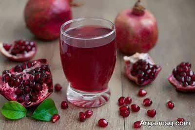 طرز آماده سازی شربت انار یک نوشیدنی فوق العاده و متفاوت