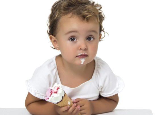 مصرف بستنی برای کودکان