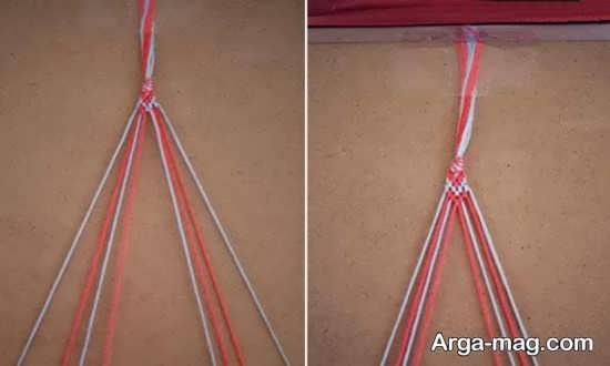 ساخت دستبند با کاموا