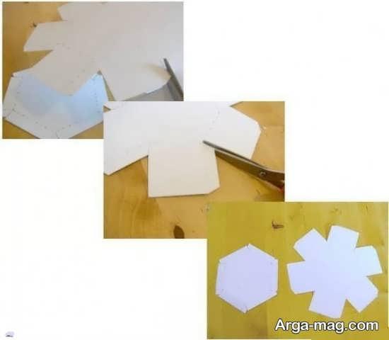 ساختن جعبه کادویی با مقوا