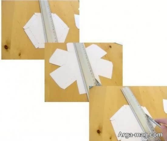 ساخت جعبه کادو با مقوا