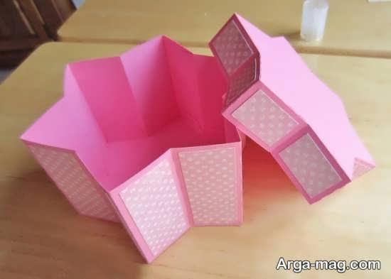 آموزش جعبه هدایا با مقوا