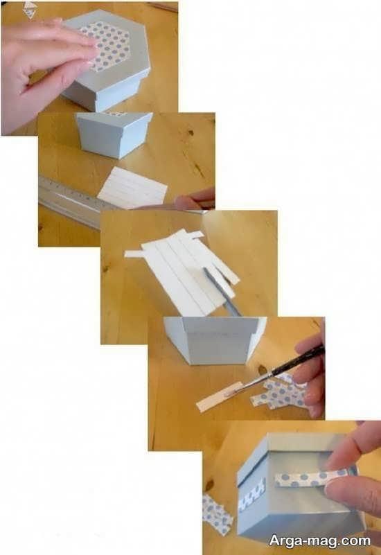 آموزش ساده جعبه کادو با مقوا