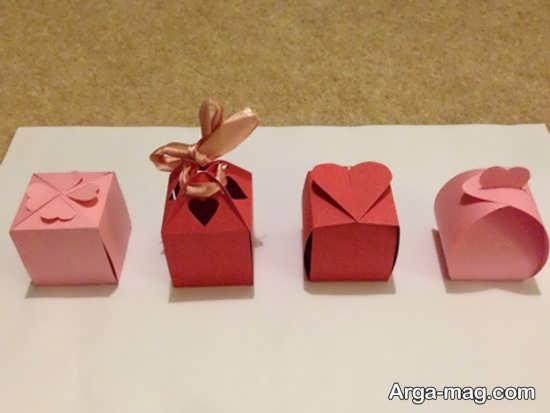 ساخت جعبه هدیه با مقوا+عکس