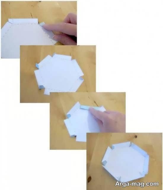 ساخت باکس کادو با مقوا