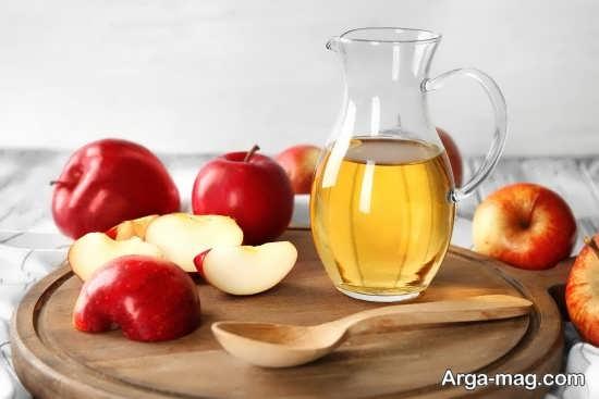 مزایای سرکه سیب برای رفع چربی مو