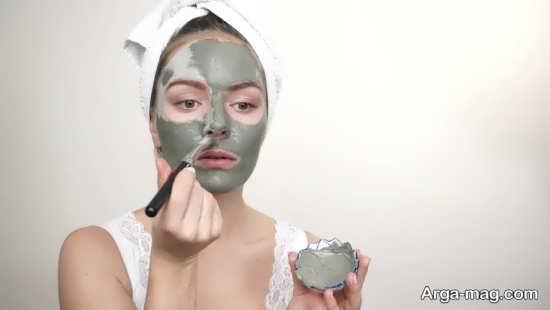 ماسک خاک رس برای رفع منافذ پوست