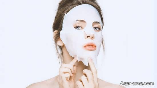 ماسک جوش شیرین برای بستن منافذ صورت