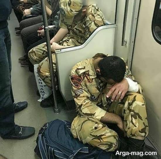 ایده های متفاوت عکس سربازی برای زینت بخشیدن صفحه مجازی