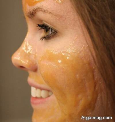 ماسک خانگی شیر و عسل