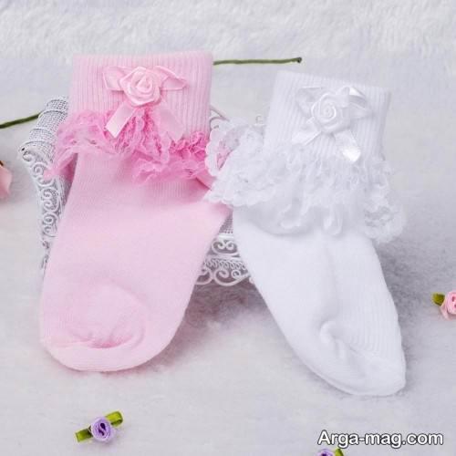 مدل جوراب نوزادی پسرانه و دخترانه با طرح های فانتزی و جالب