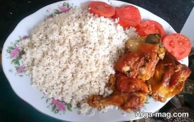 منوی غذایی کرمانی برای آخر هفته