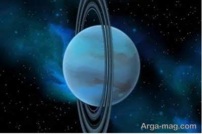 مدار اورانوس حلقوی انحراف یافته