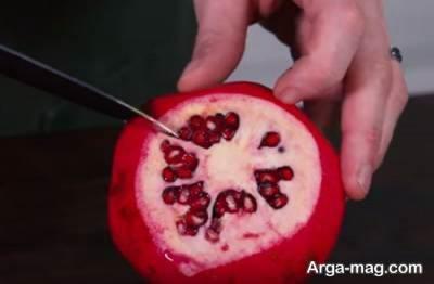 راحت ترین روش برای دانه کردن انار