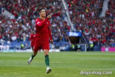 بازیکن برجسته فوتبال رونالدو در کشور پرتغال