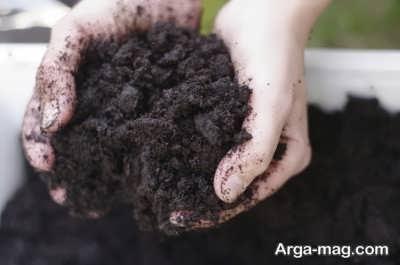 روش های تهیه خاک برگ