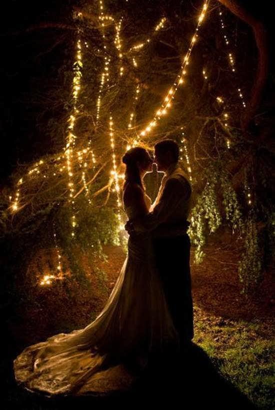 تصویر عاشقانه عروس و داماد