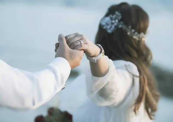 تصویر جدید عروس و داماد