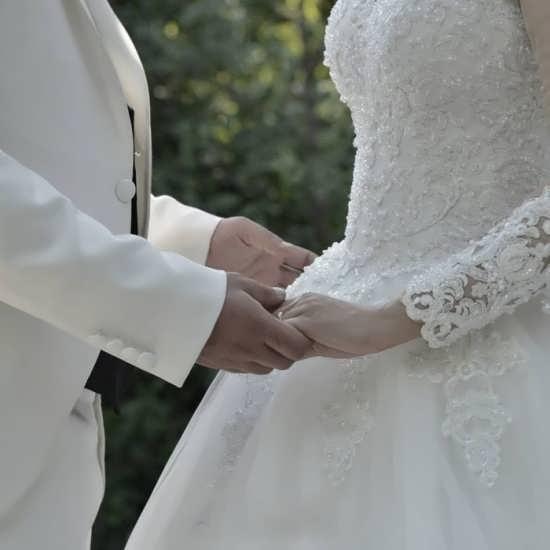 عکس بدون متن برای پروفایل عروس و داماد