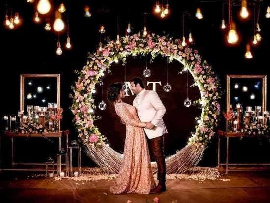 عکس عاشقانه عروس و داماد