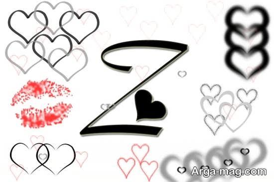 انواع عکس پروفایل حرف Z