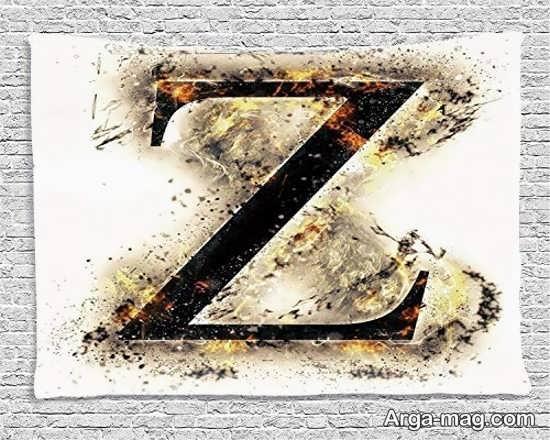 عکس نوشته حرف Z