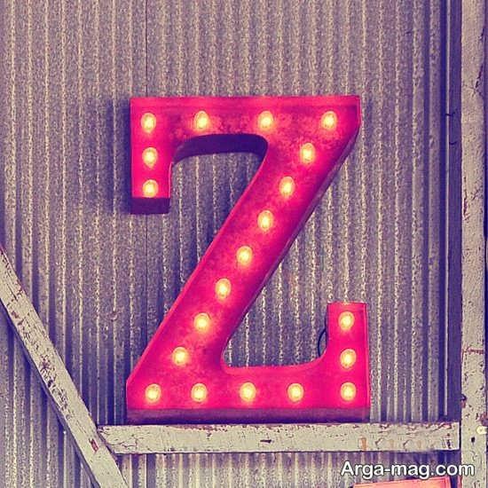گالری عکس پروفایل حرف Z