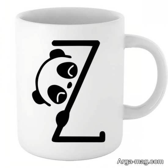 طرح نوشته جالب برای حرف انگلیسی Z