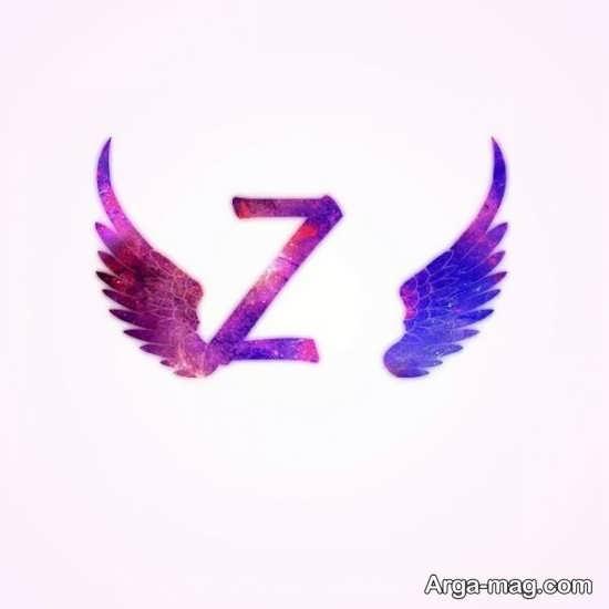 عکس نوشته زیبا و جالب حرف Z