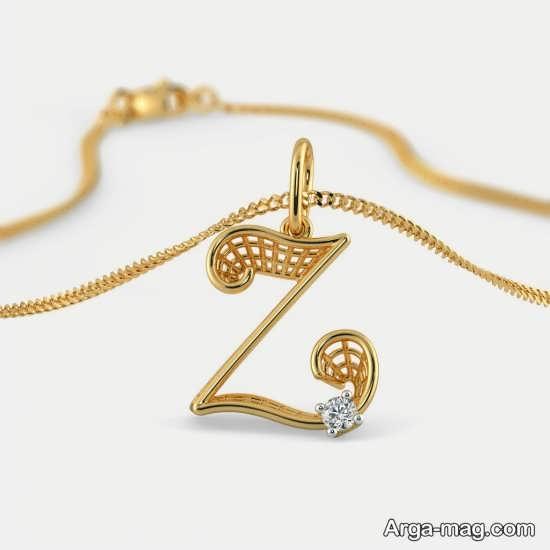 تصویر نوشته مفهومی زیبا از حرف Z