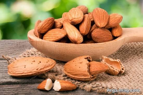خواص بادام شیرین برای سلامتی
